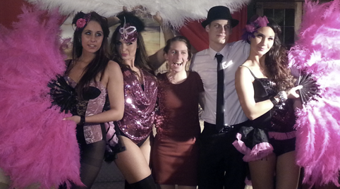 Burlesque showgroep